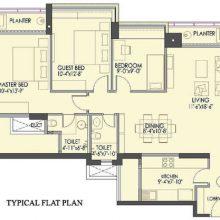 Oberoi Splendor-flat_plan